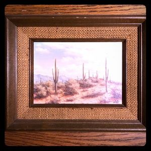 "Stunning Vintage Painting ""Pima County"""